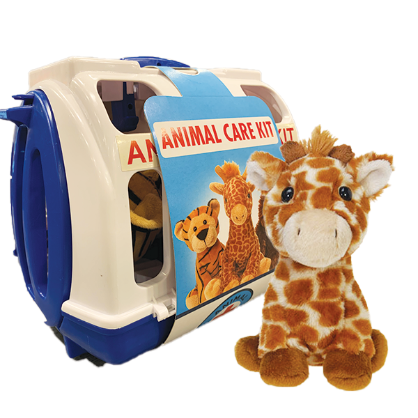GIRAFFE PET RESCUE CARRIER BLUE
