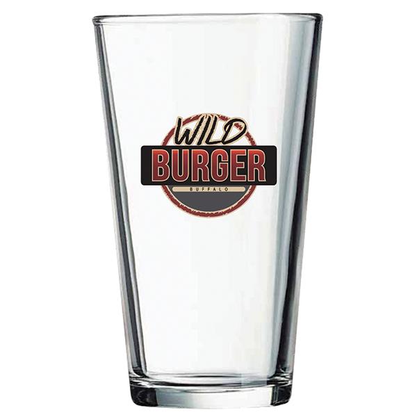 WILD BURGER 16 OZ PINT GLASS