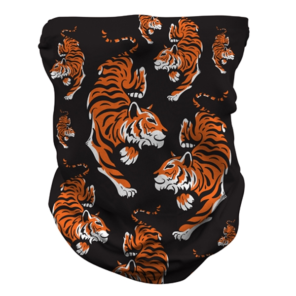 ADULT TIGER PRINT NECK GAITER