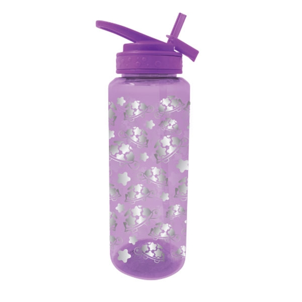 TURTLE GLITTER GLAM WATER BOTTLE